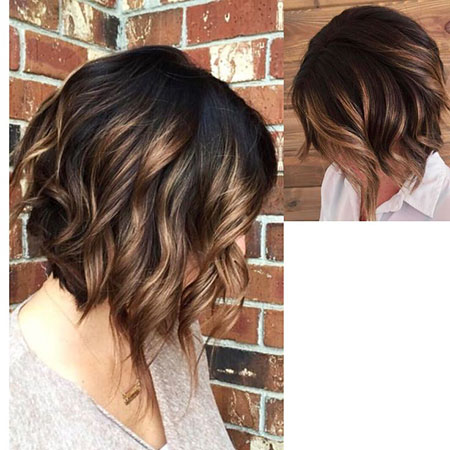 Hair Brown Balayage Highlights