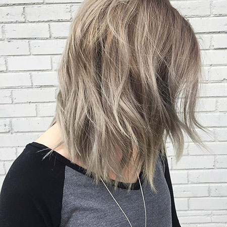 Blonde Bob Balayage Dark