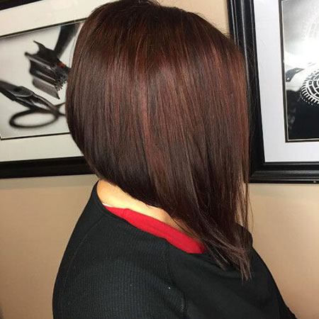 Brown Hair Balayage Bob