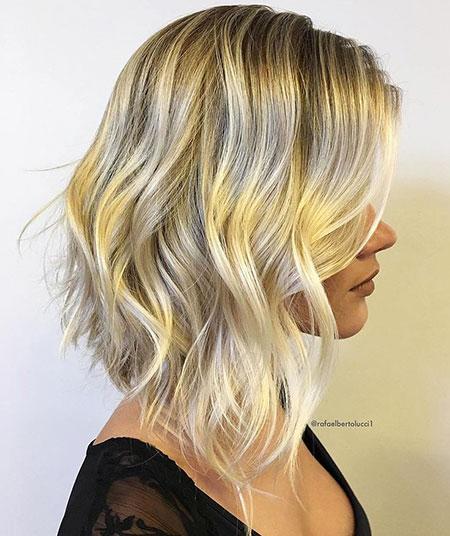 26-Angled-Wavy-Blonde-Bob-284 | Bob Haircut and Hairstyle ...