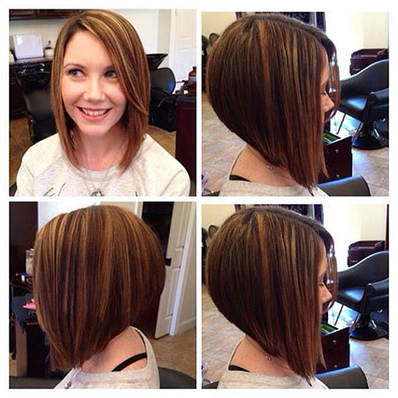 Inverted Bob, Bob Length Medium Hair