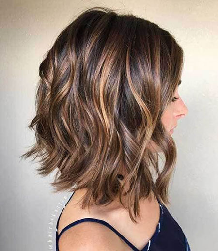 Trendy Lob Cut, Hairtyles Bob Short Hair