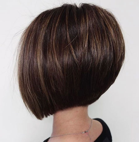 Inverted Thick Bob, Bob Hair Thick Inverted