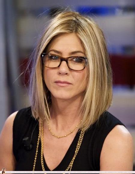 Bob Cut and Glasses, Jennifer Hair Glasses Hairtyles