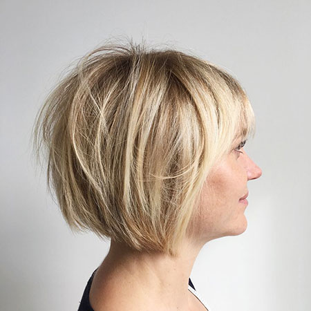 Short Razored Bob Hairtyle, Bob Short Bobs Choppy