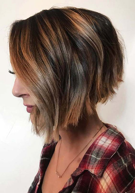 Bob Brown Short Balayage