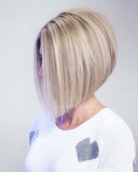 Bob Choppy Layered Gray