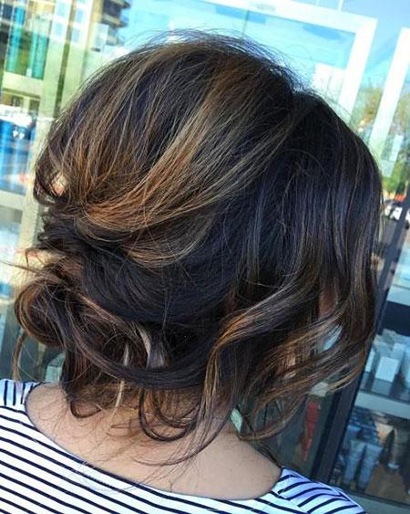 Hair Balayage Bob Updos