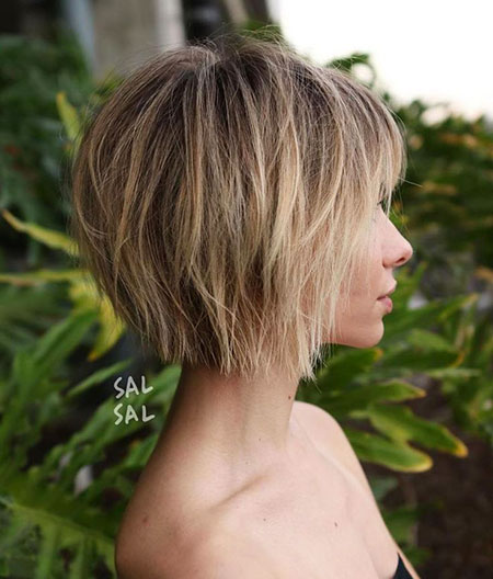 Choppy Bob Short Bronde