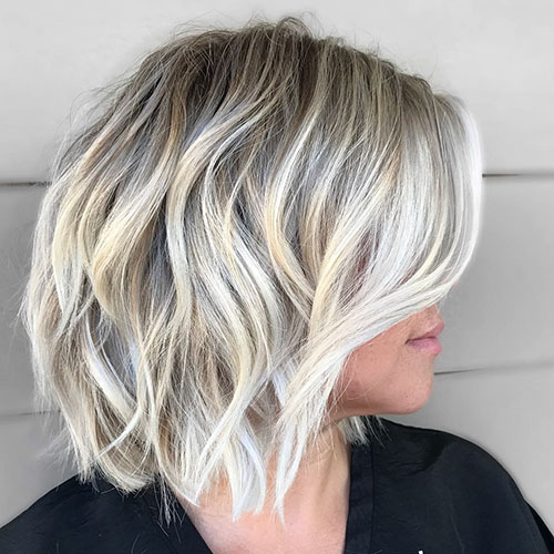 Short Layered Hair