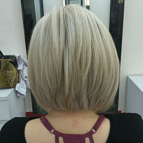 Bob Hairstyle 2018 Back View