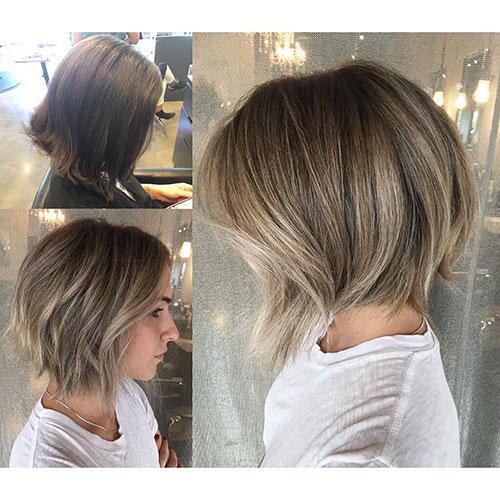 Texture Bob Hair