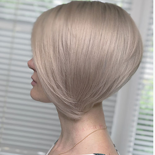 Chin Length Bob Haircut 2018