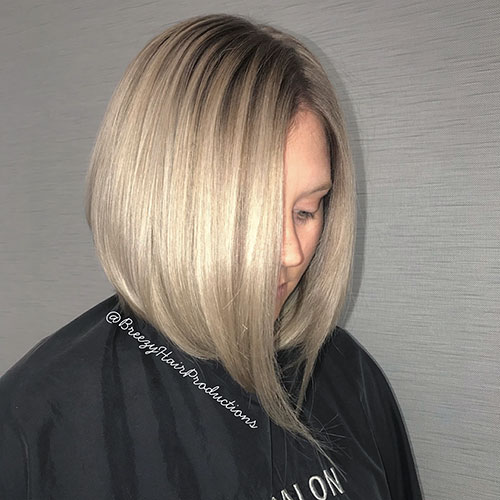 Short Blonde Highlights Hair