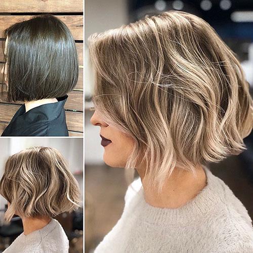 Blonde Ombre Bob Hair
