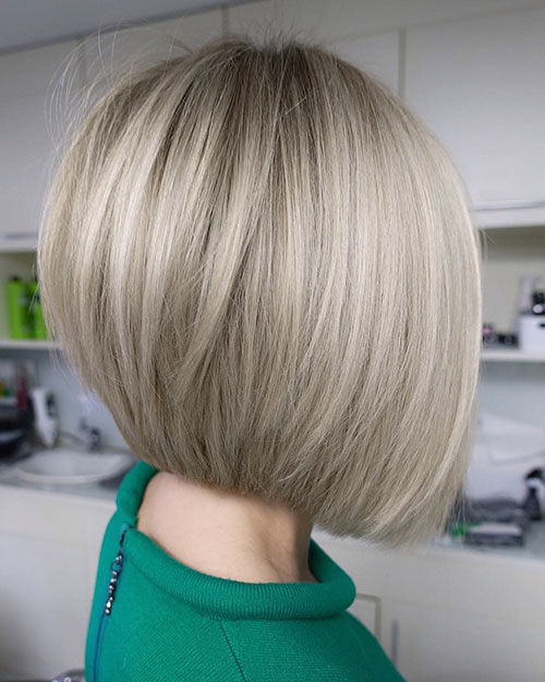 Bob Haircut 2018 Side View