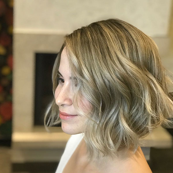 Bob Cut For Wavy Hair