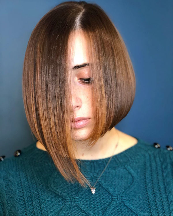 Short Asymmetrical Bob Haircuts