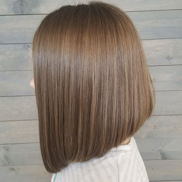 Straight Long Bob Hairstyles