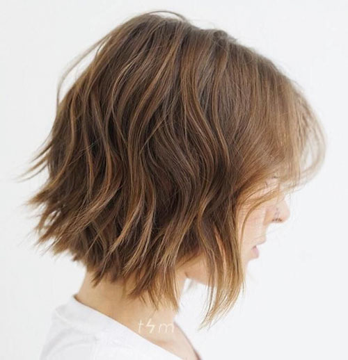 Short Choppy Bob