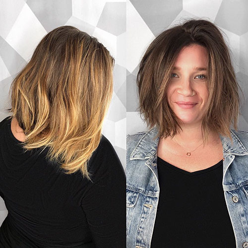 Choppy Asymmetrical Bob