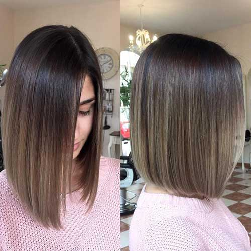 Long Straight Bob Hairstyles