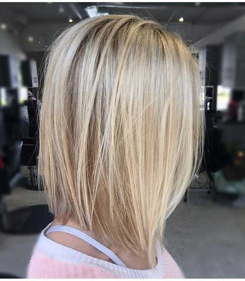 Straight Cut Long Bob