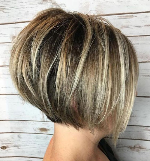 Bonde Stacked Bob Haircuts 2019-12