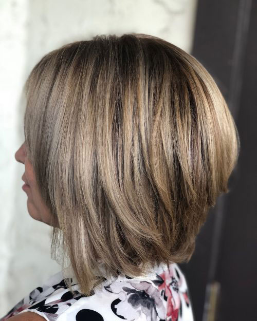 Straight Stacked Bob Haircuts 2019-14