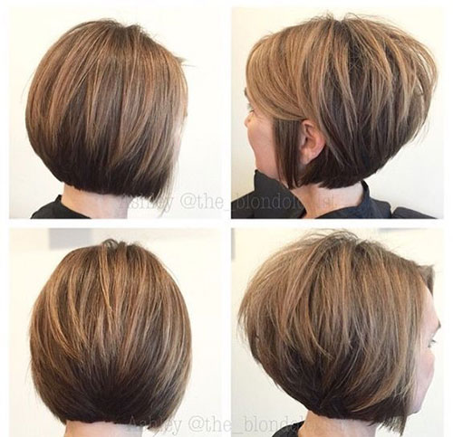 Modern Stacked Bob Haircuts 2019-15