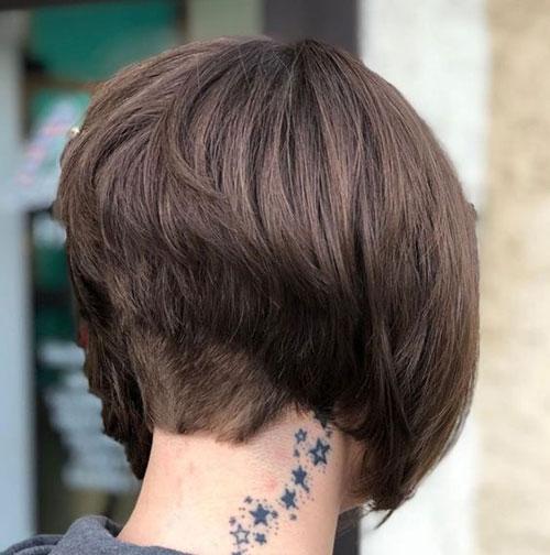 Short Stacked Bob Haircuts 2019-9