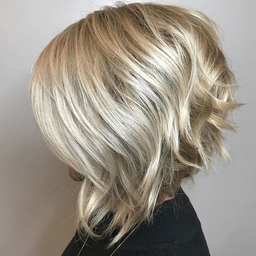 Blonde Stacked Bob Haircuts 2019-7