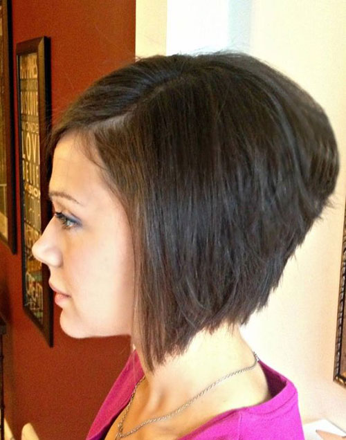 Fine Stacked Bob Haircuts 2019-11