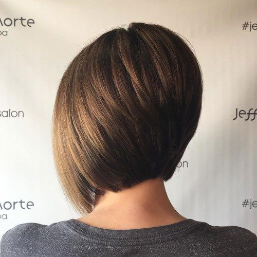 Modern Stacked Bob Haircuts 2019-8