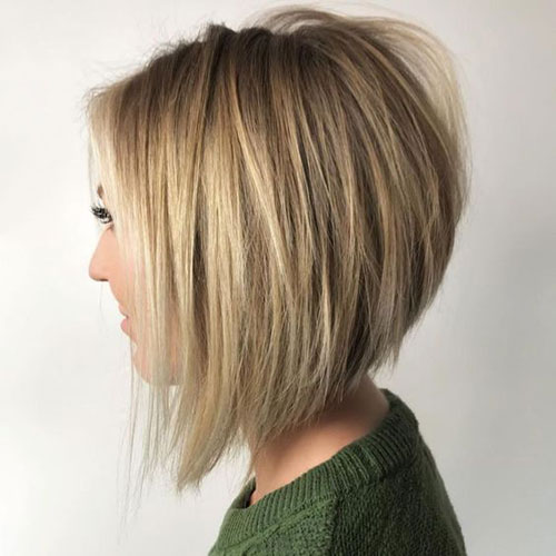 Stacked Bob Haircuts 2019