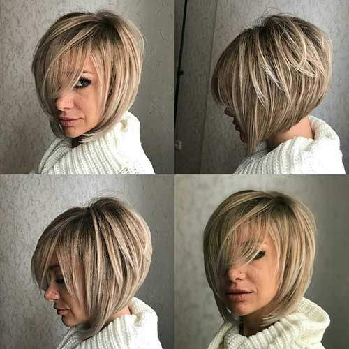 Layered Hairstyles With Bangs 2019 83