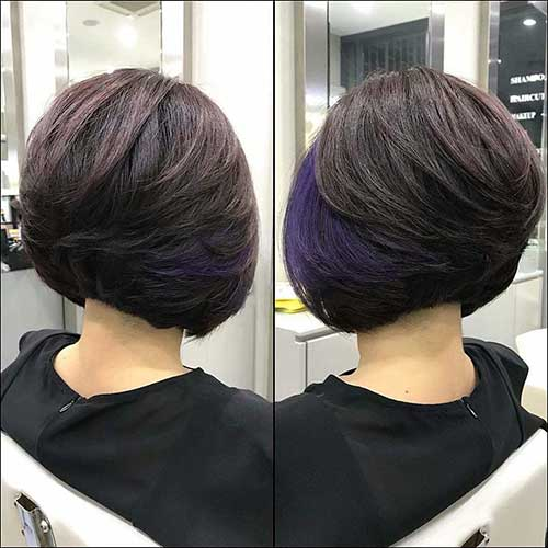 Bob Hairstyles Back View