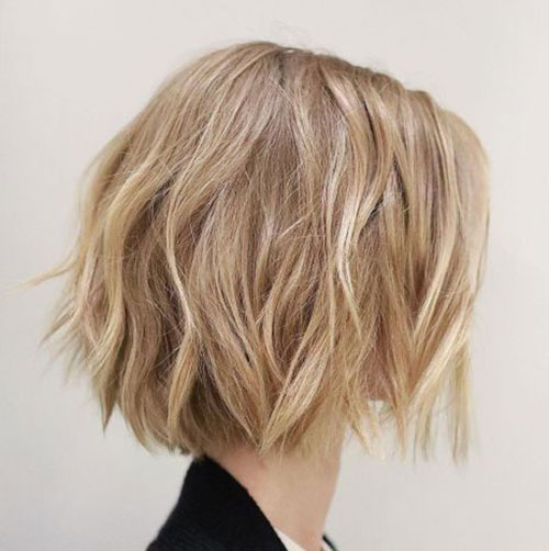 Messy Choppy Bob Hairstyles-12