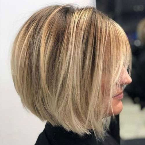 Modern Bob Thick Hairstyles-14