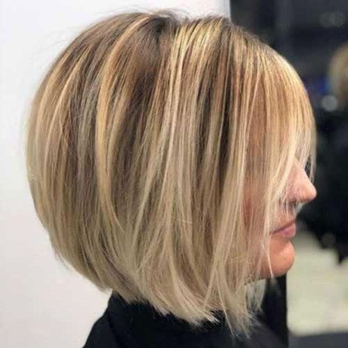 Modern Bob Thick Hairstyles-14