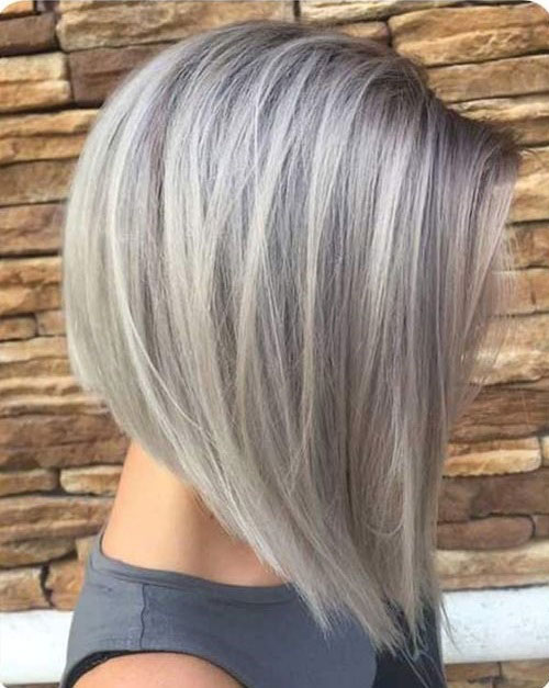 Ash Blonde Long Inverted Bob Hairstyles-16