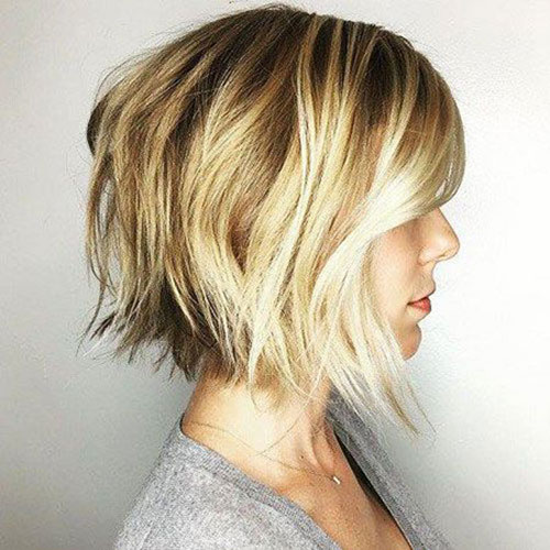 Choppy Bob Fine Hairstyles-17