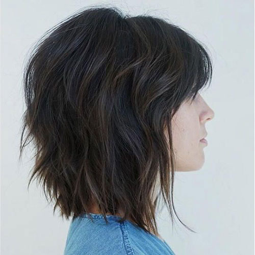 Modern Bob Thick Hairstyles-23