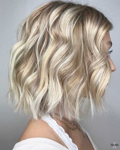Blonde Highlights Bob Haircut