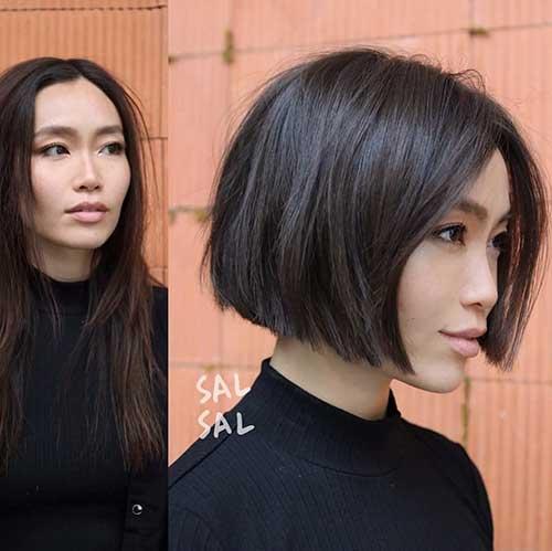 Short Blunt Bob Haircuts
