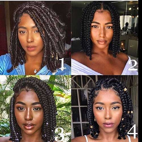 Crochet Box Braids Bob