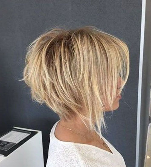 Graduation Bob Hairstyles with Bangs-6