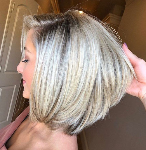 Shoulder Length Modern Bob Hairstyles-6