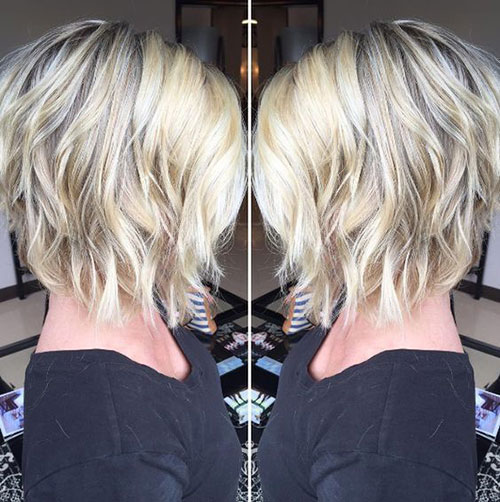 Shaggy Long Inverted Bob Hairstyles-7