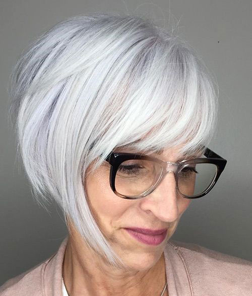 Older Women Bob Hairstyles with Bangs-8